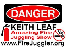 keith leaf danger